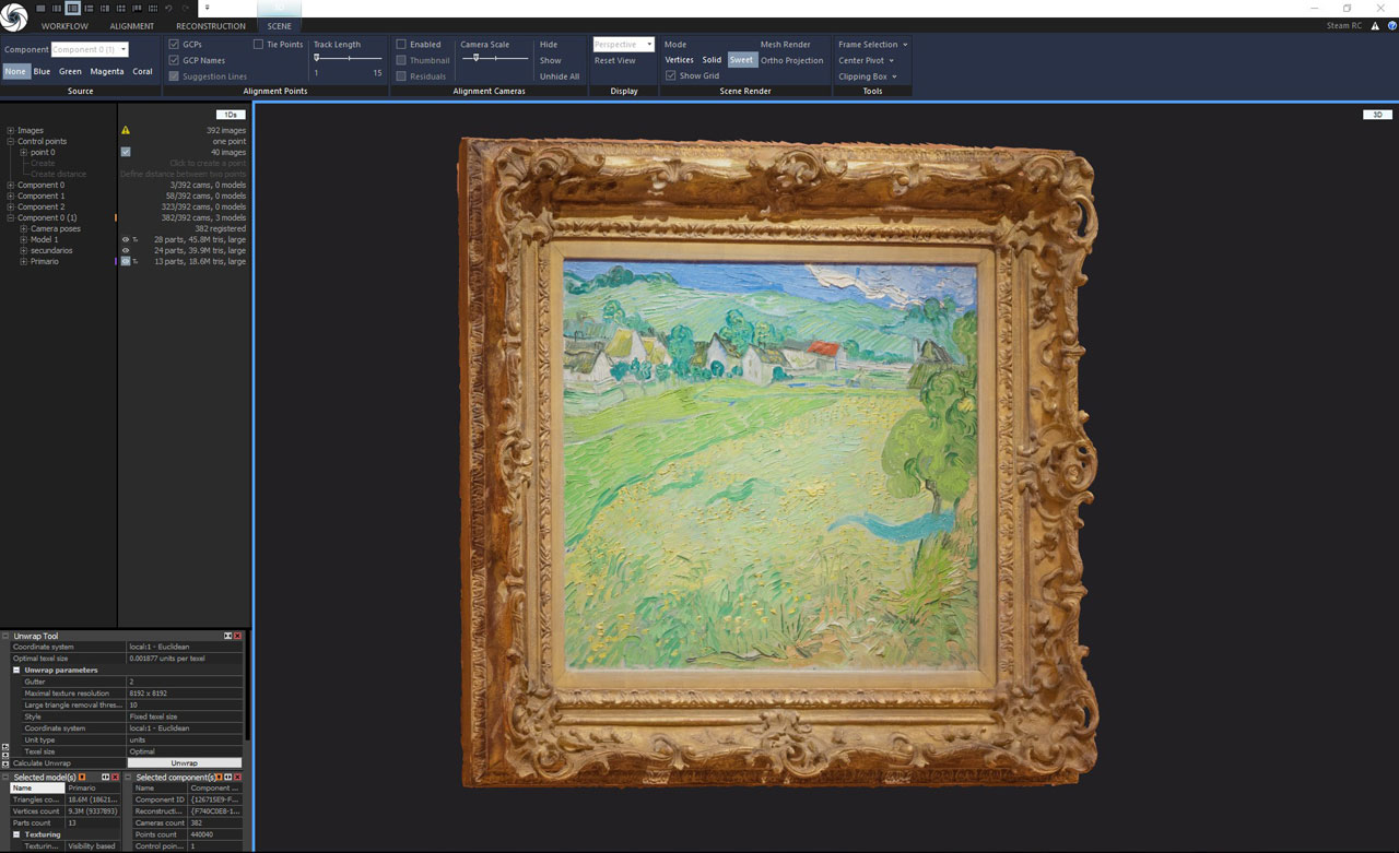 Enter Van Gogh's painting with VR