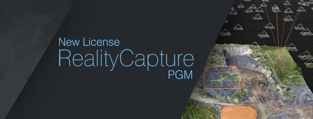 Article-New-RealityCapturePGM-License - CapturingReality com